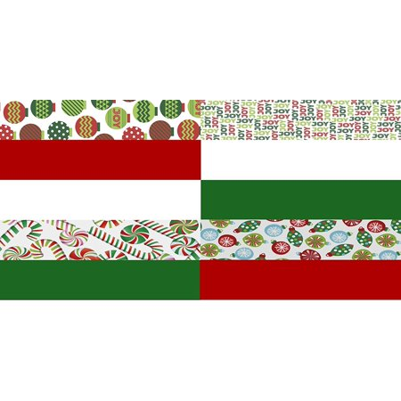 Christmas Tissue Paper Printed and Solid- 120 Sheet](Christmas Tissue Paper)