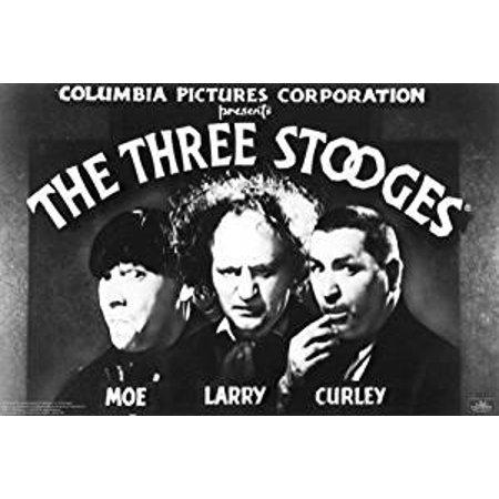 Three Stooges Opening Credits Funny Poster 36x24 - Halloween 3 Opening Credits
