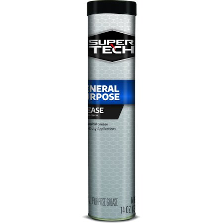 Super Tech General Purpose Lithium Grease, 14 oz Tube (Grease Marty)