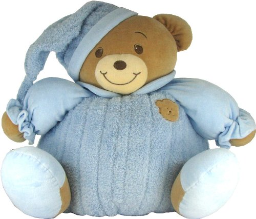 Baby Bow Huge Goodnight Stuffed Teddy Bear in Blue by Russ Berrie