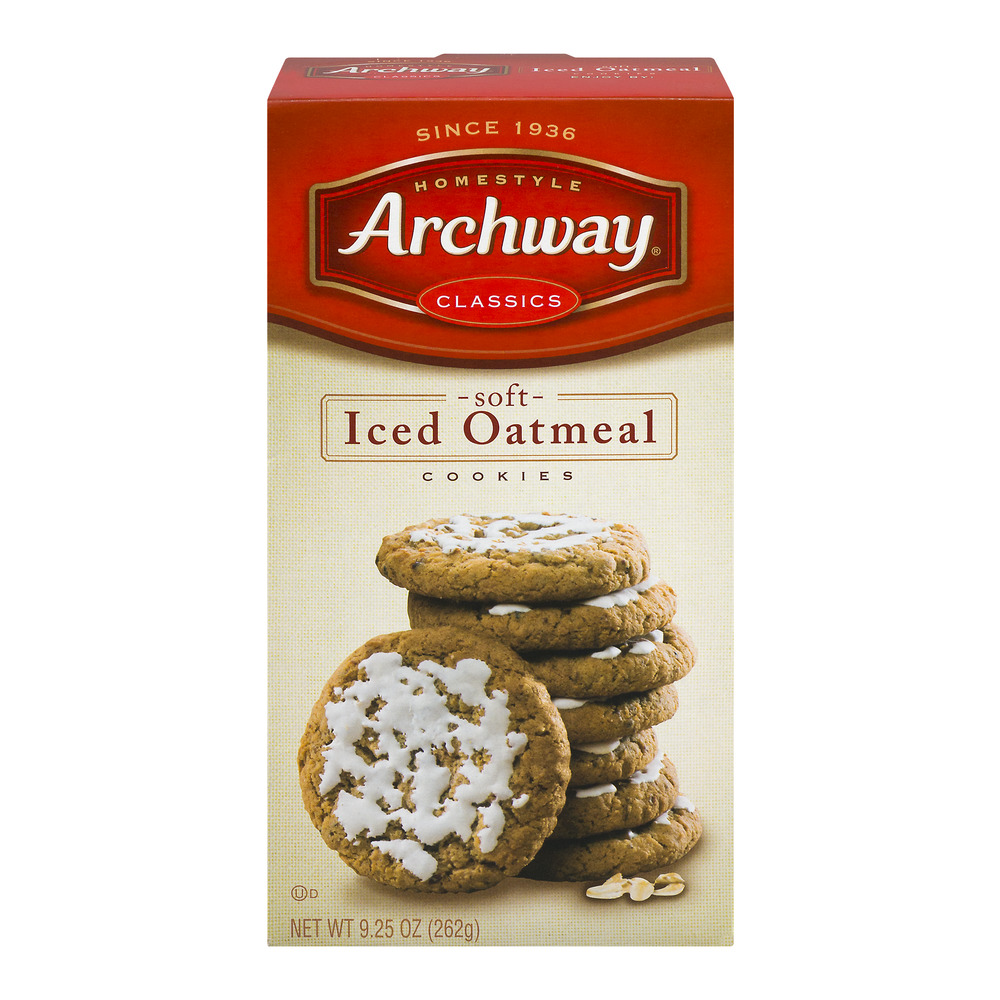 Archway Classics Soft Iced Oatmeal Cookies, 9.25 OZ