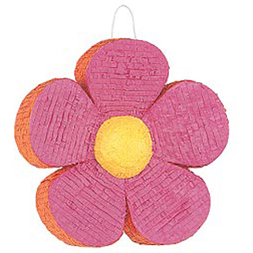 Flower Pinata with Pull String