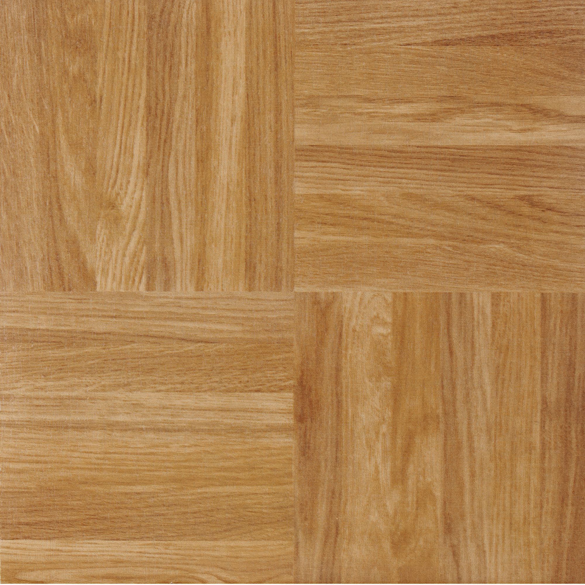 Pack Achim Home Furnishings FTVWD20220 Nexus 12-Inch Vinyl Tile Classic Light Oak Diamond Parquet Wood Ligh 3-