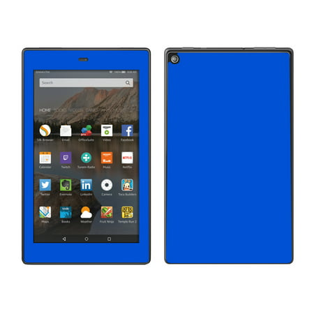 Skins Decals For Amazon Fire Hd 8 Tablet   Solid Blue