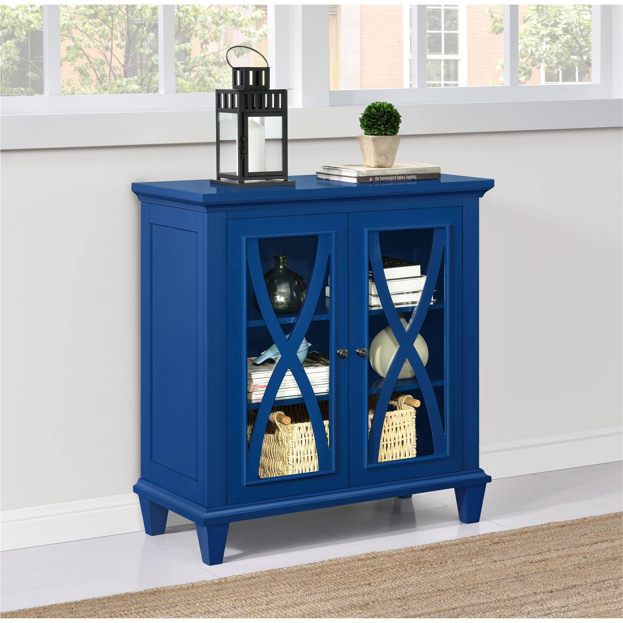 Altra Ellington Double Door Accent Cabinet, Multiple Colors