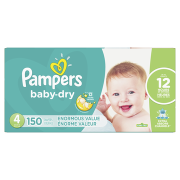 Pampers Pamp Baby Dry S4 Enorm Sppk + Cruis360