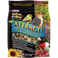 Bird Lover's Blend Attract! Ultimate Birders' Choice Wild Bird Food, 4 lb.