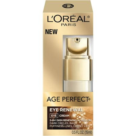 L'Oreal Paris Age Perfect Eye Renewal, 0.5 fl oz (Best Organic Eye Cream)