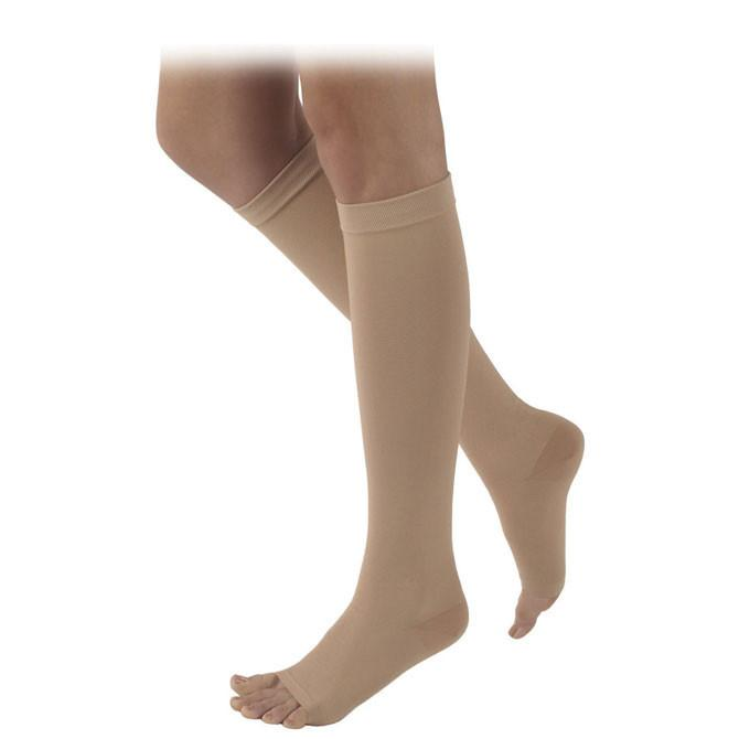 Sigvaris 505 Rubber Series Open Toe Knee Highs - 50-60mmH...