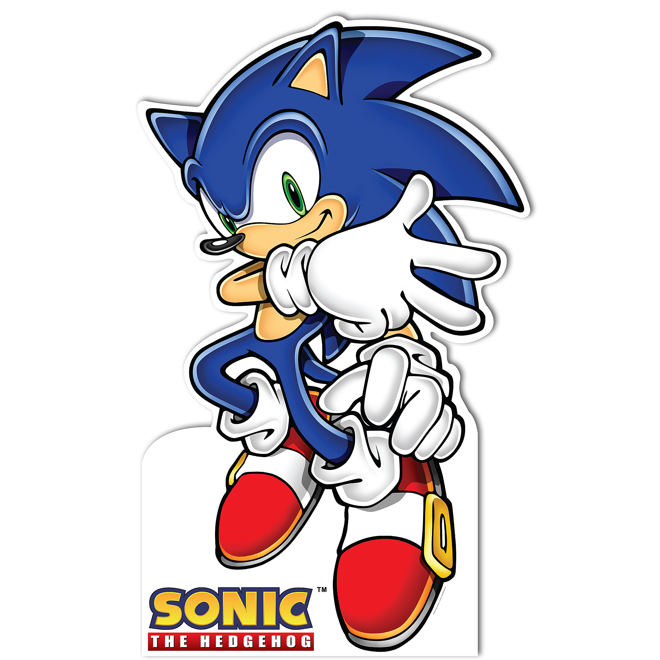 Sonic the Hedgehog Standup, 5\' Tall - Walmart.com