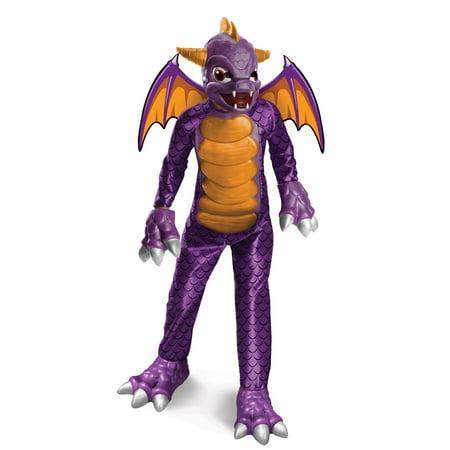 Skylanders Spyro Deluxe Costume - Boys - Skylanders Halloween Costume