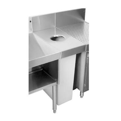 Glastender DWB-15L Underbar Dry Waste - 18 Underbar Cocktail Unit
