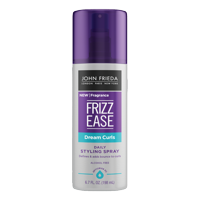 John Frieda Frizz Ease Dream Curls Spray, Magnesium-enriched Formula, Revitalizes Natural Curls, Daily Styling Spray, 6.7 fl oz