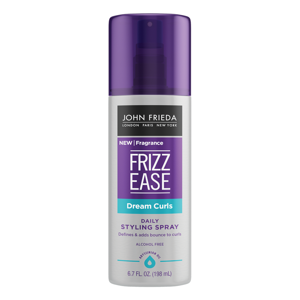 John Frieda Frizz Ease Dream Curls Daily Styling Spray, 6.7 FL OZ