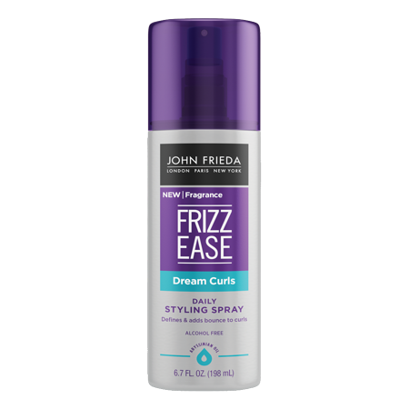 John Frieda Frizz Ease Dream Curls Daily Styling Spray, 6.7 FL