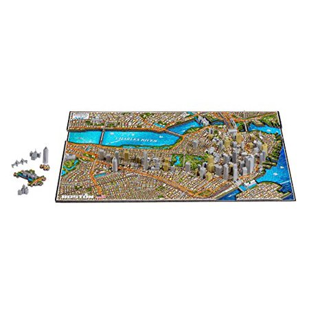 Boston Usa Time Puzzle 1100 Piece - image 1 of 10