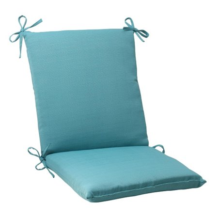 36 5 aquatic turquoise blue outdoor patio square wicker chair cushion. Black Bedroom Furniture Sets. Home Design Ideas
