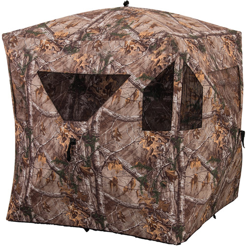 Ameristep Brickhouse Blind, Realtree Xtra HD Camo