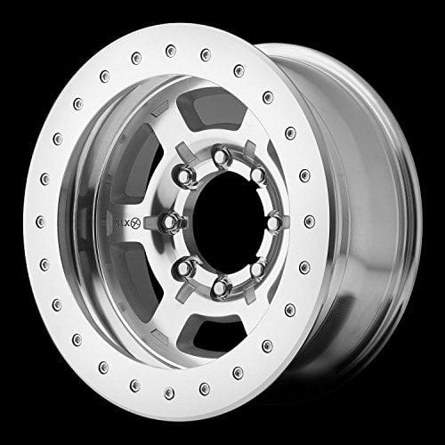American Racing ATX Chamber Pro II 17 Machined Wheel / Rim 5x5 with a -24mm Offs