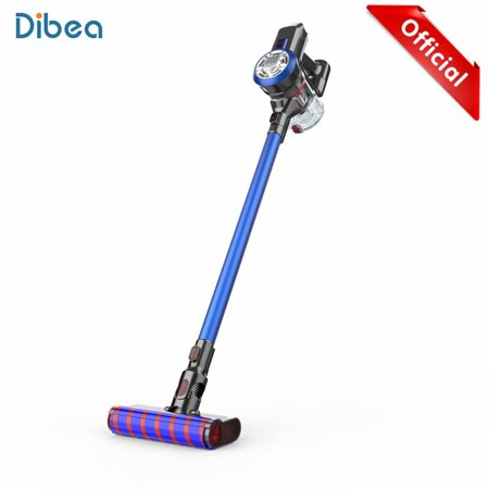 Dibea Cordless Vacuum Cleaner, 2-in-1 Stick and Handheld Vacuum Cleaner with 9KPa High Suction 2200mAh Rechargeable 6 x Lithium-ion battery for Carpet Hardwood Floor Sofa(Include Accessories),