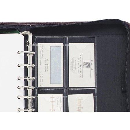 Leaf Business Card (Day-Timer Vinyl Business/Credit Card Holder, Loose-Leaf, Portable Size, 3 ?