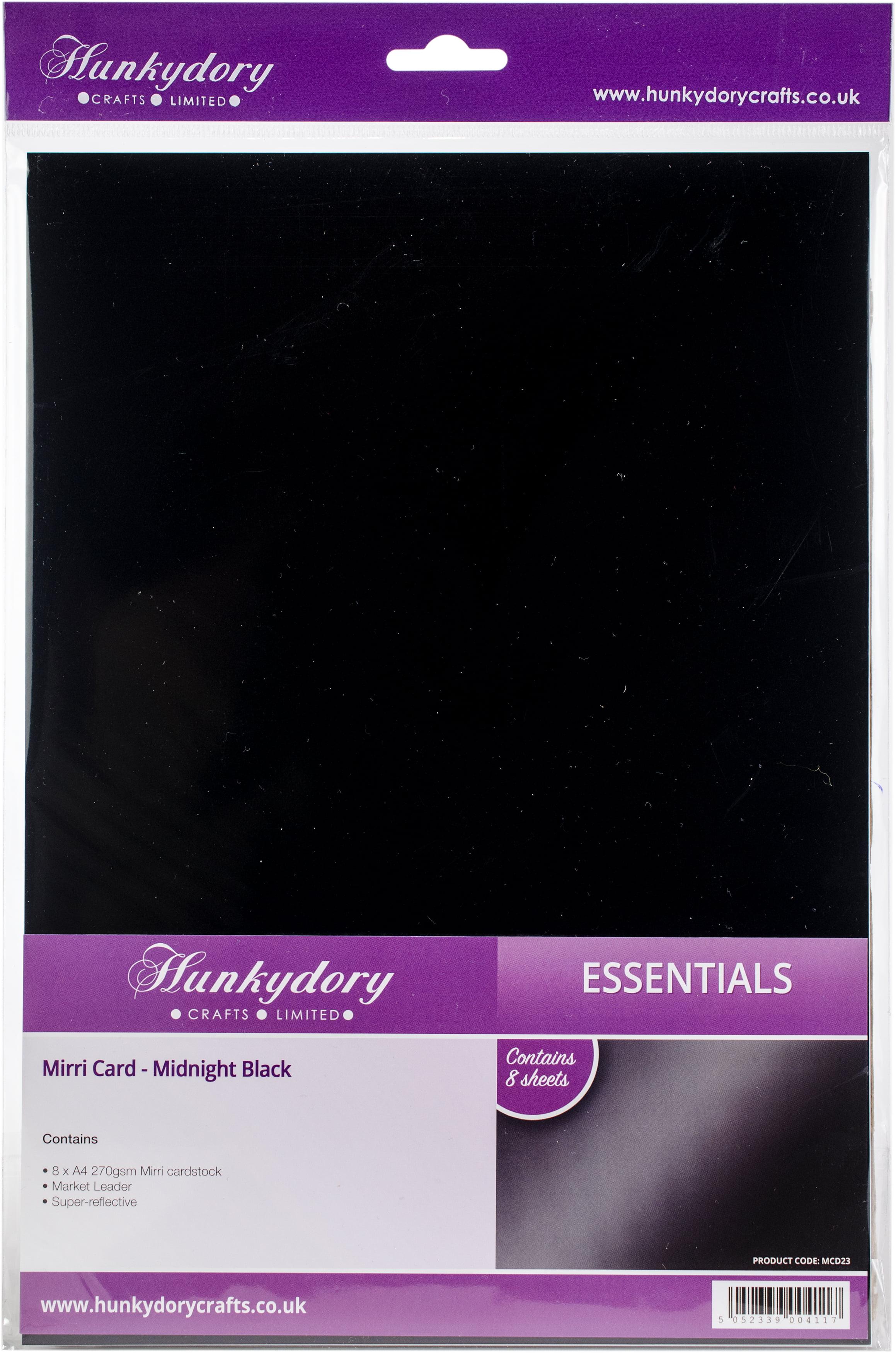 Hunkydory Mirri Super-Reflective A4 Cardstock 8//Pkg-Festive