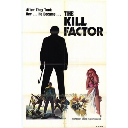 The Kill Factor Movie Poster  11 X 17