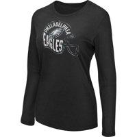 Product Image Women s Majestic Black Philadelphia Eagles Turn it Loose Long  Sleeve T-Shirt 836de3cbd