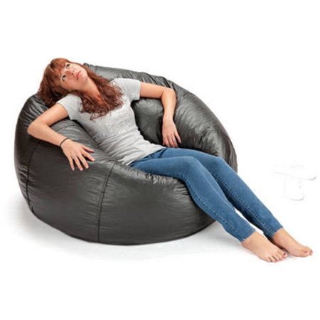 132 Round Extra Large Shiny Bean Bag Multiple Colors