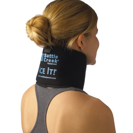 """Cold & Hot Therapy System Ice Pack Wrap - ! MaxCOMFORT™ (Neck/Jaw/Sinus Design; 4 ½"""" x 10"""") – F30510, Fully Flexible Ice Pack Wrap: Molds around.., By Ice (Arctic Ice System Cold Water Therapy Device)"""