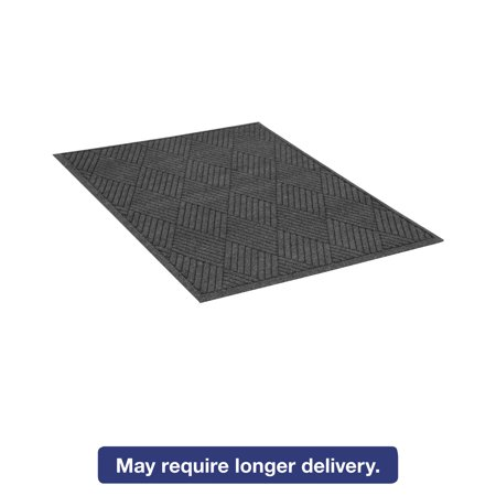Aluminum Diamond Plate Floor Mats (Guardian EcoGuard Diamond Floor Mat, Rectangular, 48 x 72, Charcoal )