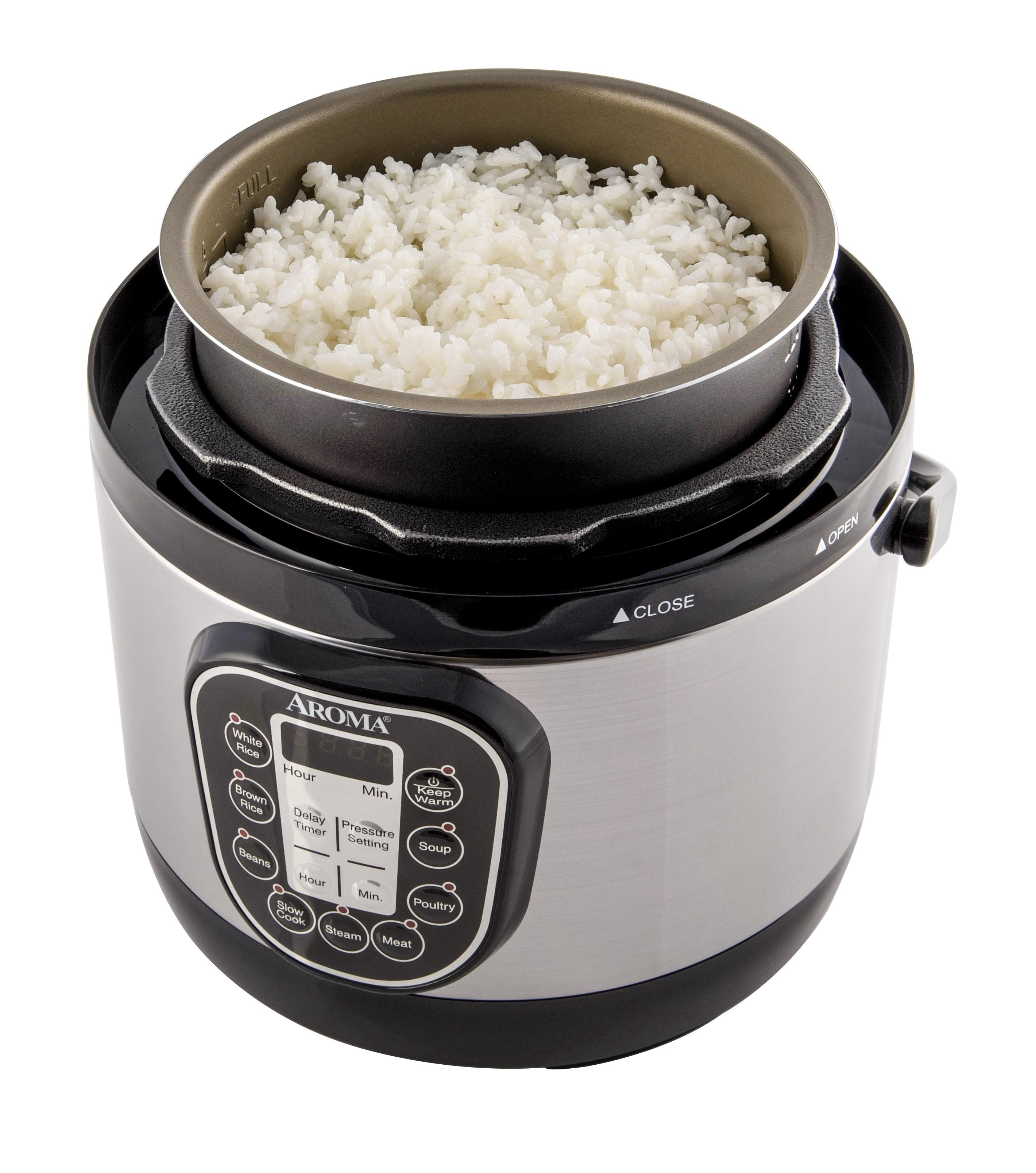 Aroma 2 liter digital turbo pressure cooker walmart ccuart Images