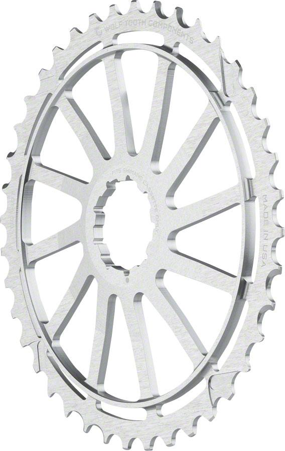 WOLF TOOTH COMPONENTS 42T GC cog for SRAM 11-36 10-speed Cassettes BLACK NEW