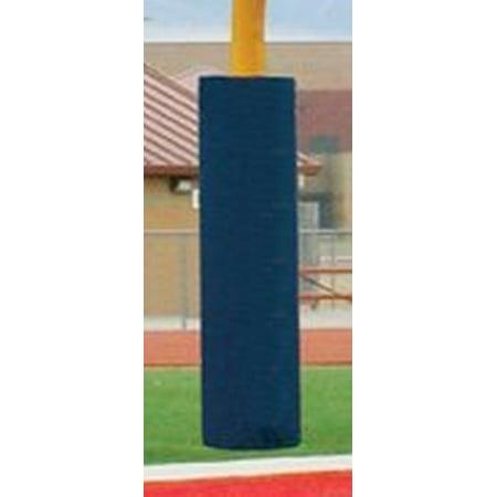 Football Post - First Team FT6060 Foam-Vinyl Post Pad for 6.62 in. Football Goalpost44; Orange