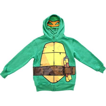 TMNT Teenage Mutant Ninja Turtles Toddlers/Boys Green Costume Hoodie Sweatshirt