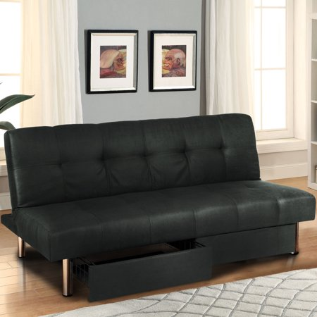 Best Choice Products Microfiber Futon Folding Sofa Bed