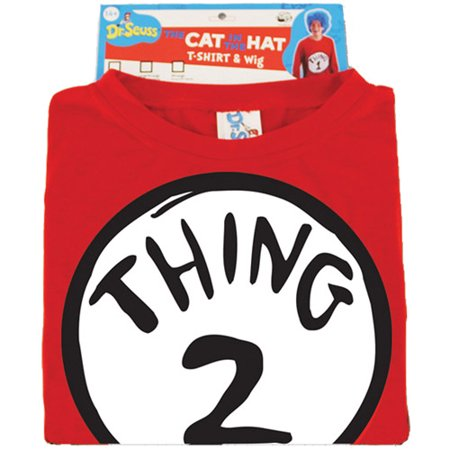 Dr. Seuss Thing 2 Adult Halloween Costume
