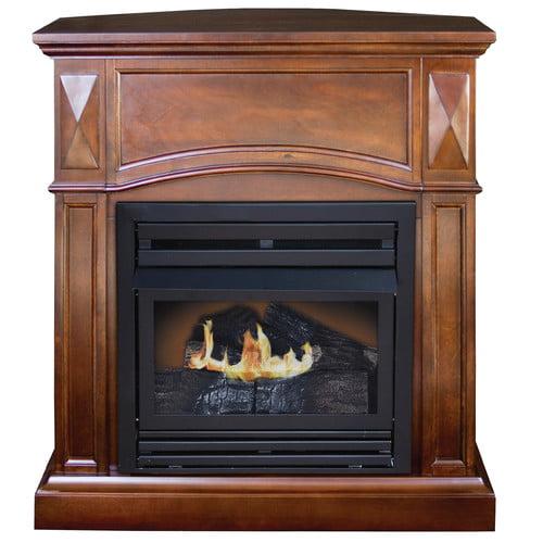 DuraHeat KozyWorld Belmont Compact Freestanding Gas Firep...