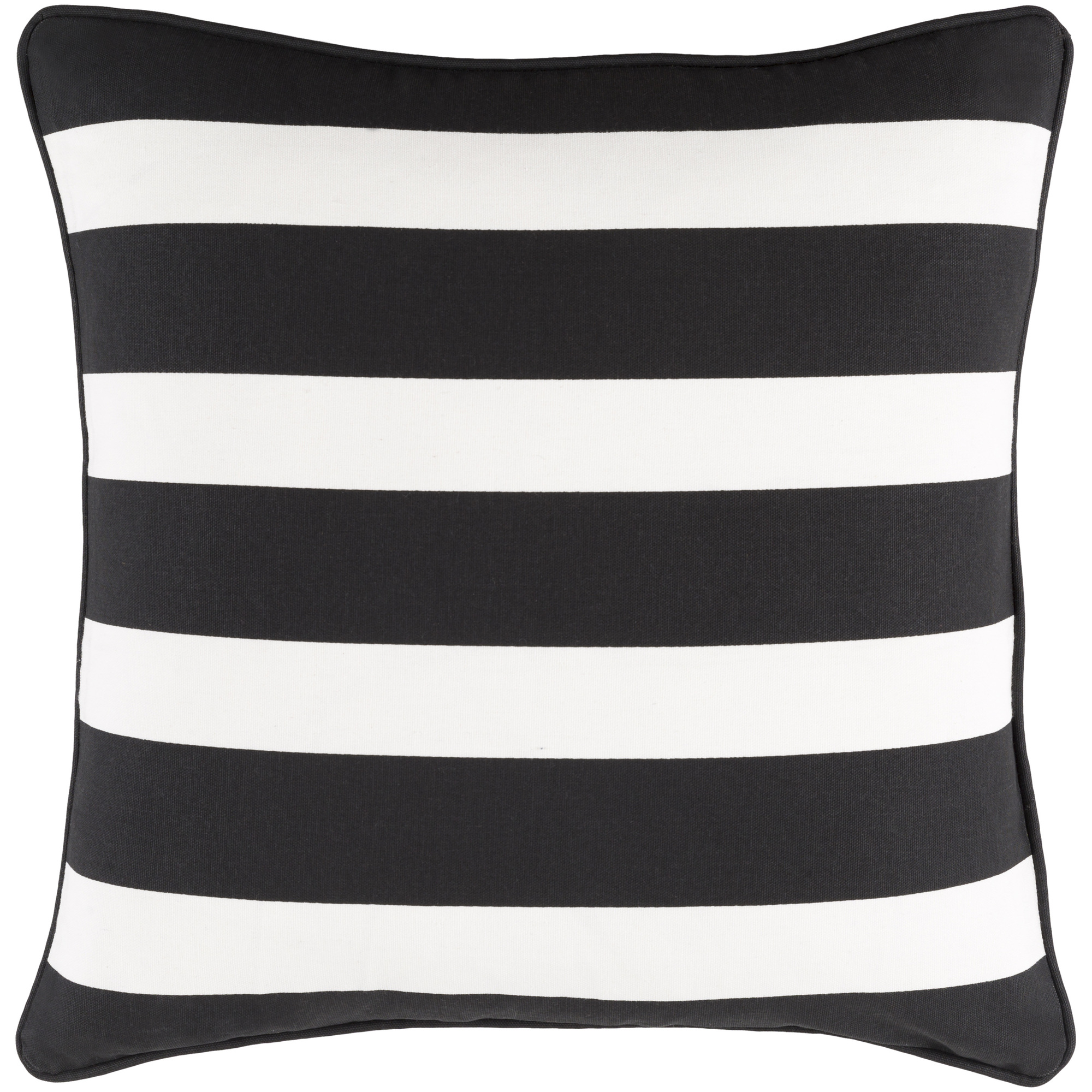 """Artistic Weavers Glyph Stripe 18"""" x 18"""" Pillow (with Poly Fill)"""