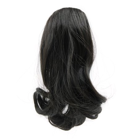 (Synthetic Drawstring Wavy Curly Ponytail Hairpiece for Women #1)