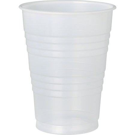 Solo, SCCY10PFTPK, Galaxy Plastic Cold Cups, 500 / Carton, (Translucent Cold Cups)