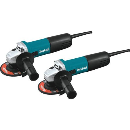 Makita-9557NB2 4-1/2 in. Angle Grinder with AC/DC Switch (2PK)
