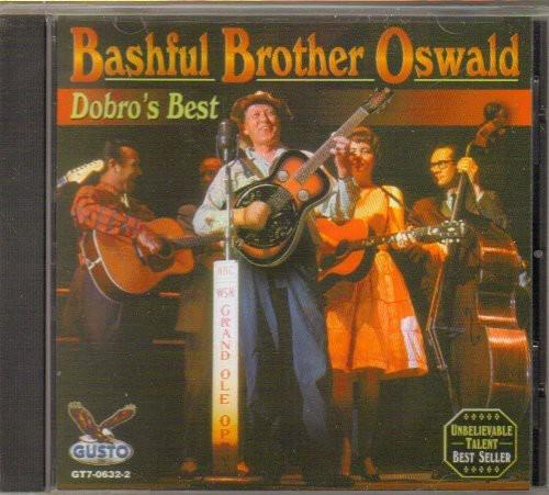 Oswald Bashful Brot - Dobro's Best [CD]