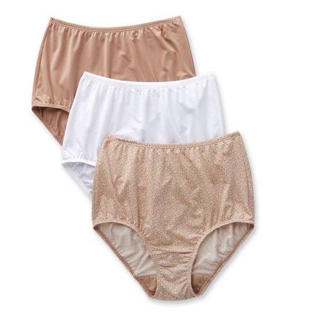 945e4fea0fcd Olga - Women's Olga 23173J Without A Stitch Micro Brief Panty - 3 Pack -  Walmart.com