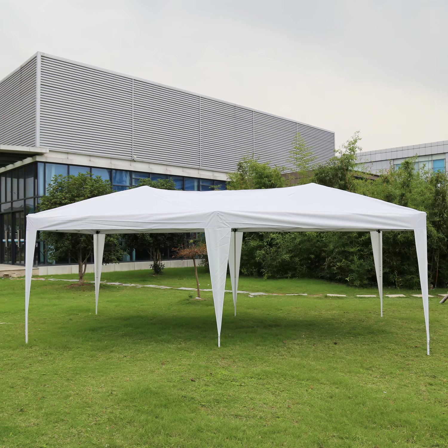 Kinbor 10 X 20 Easy Pop Up Wedding Party Tent Foldable