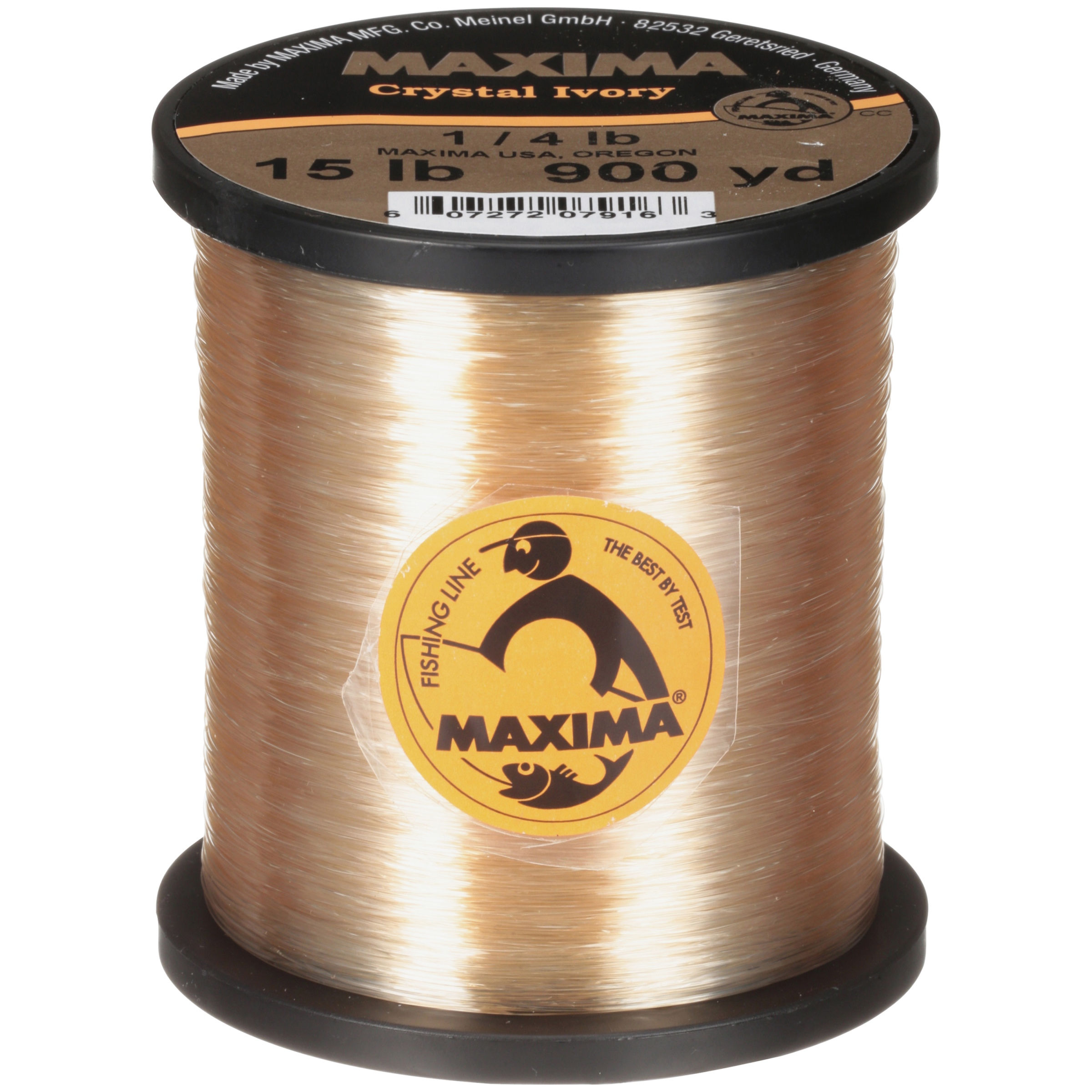 Maxima Crystal Ivory 15 lb Fishing Line by Maxima Mfg. Co.