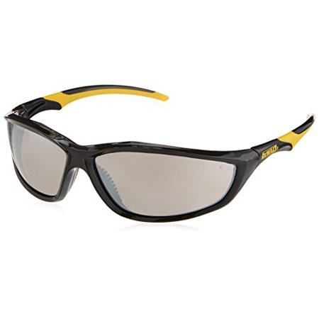 Radians DPG96-6D DeWalt Router Safety Glasses with Silver Mirror Lens, (1-Pair) (Outdoor Mirror Safety Glasses)