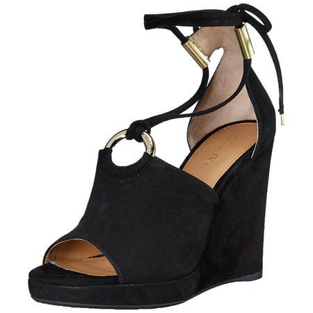 (Calvin Klein Womens Ramona Open Toe Casual Platform Sandals)