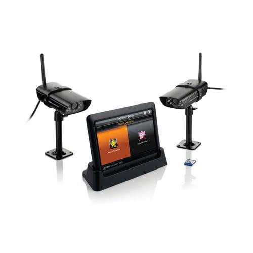 Uniden Guardian G755 Weatherproof Wireless Video Surveillance System w  7 Inch HR Monitor by Uniden