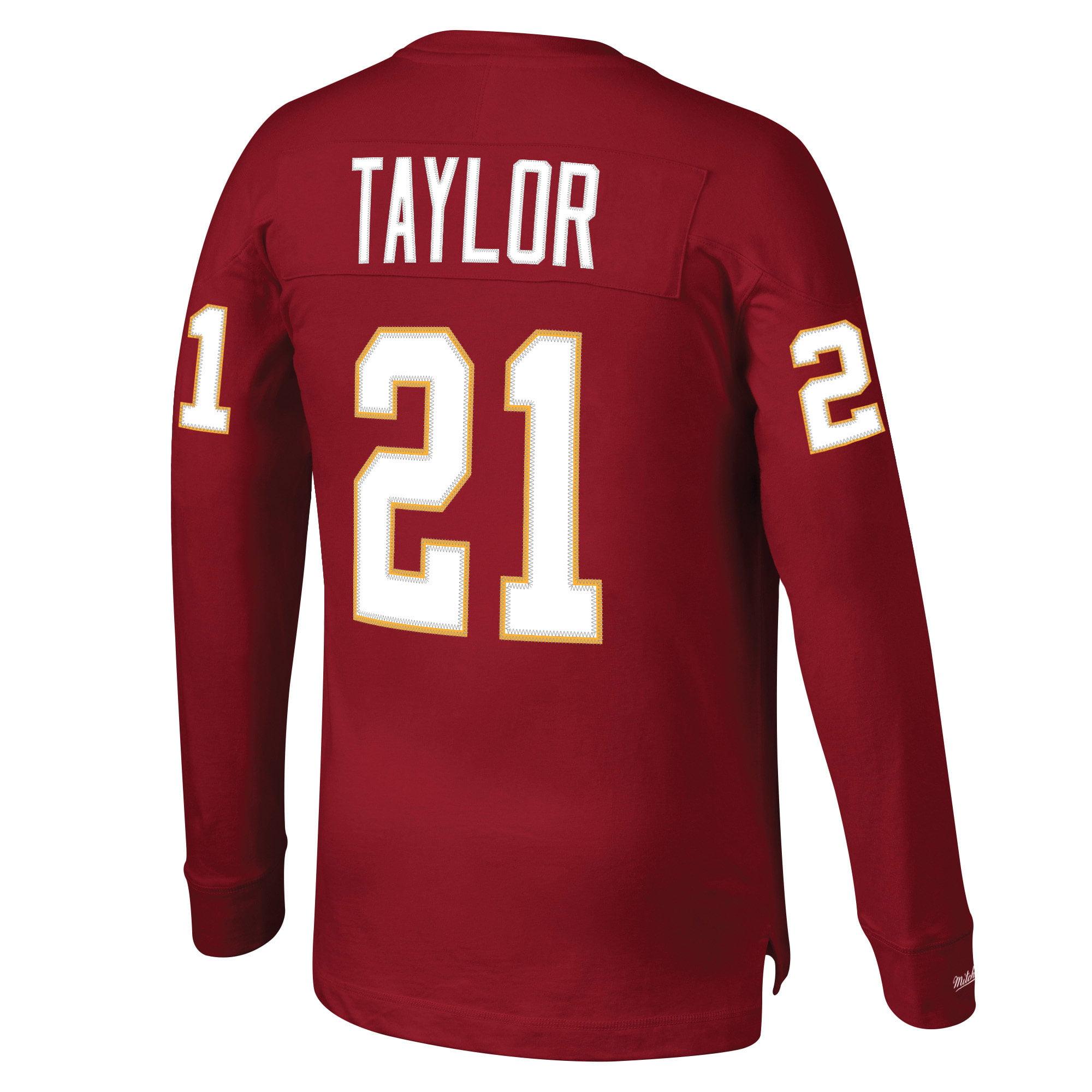 new styles 8c423 e1923 Sean Taylor Washington Redskins Mitchell & Ness Throwback Name & Number  Long Sleeve T-Shirt - Burgundy